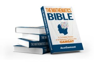 GAMSAT Mathematics Bible